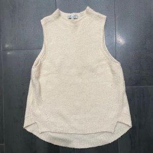Milly cashmere sleeveless sweater size medium